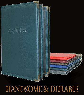 Menu Covers & Guest Checkbooks