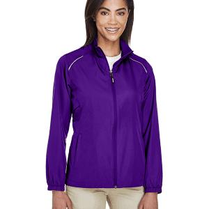 Core 365 Ladies Motivate Unlined Lightweight Jacket Campus Purple Front