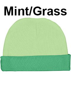 Rabbit Skins Infant Baby Rib Cap Mint/Grass