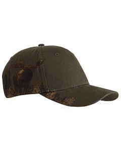 Cotton Twill Moose Cap