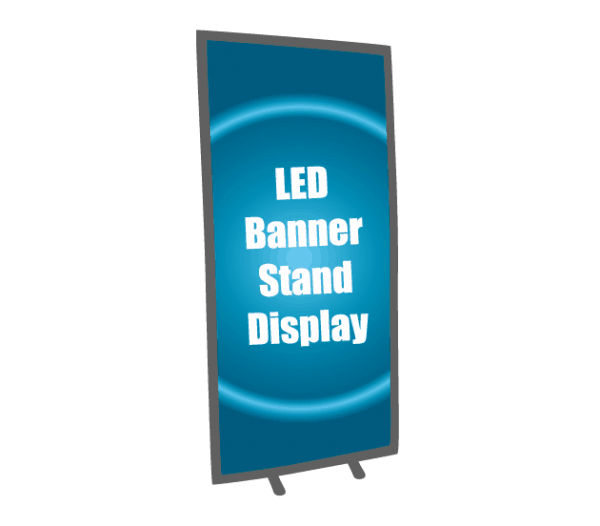 LED Double Foot Stand