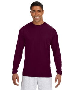 A4 Men's Cooling Performance Long Sleeve T-Shirt - MCN3165